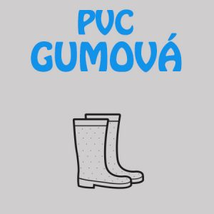 Gumová, PVC